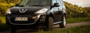 Peugeot 4007 black edition, 4x4 suv